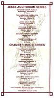 University of Missouri-Columbia Concert Series 1977-1978