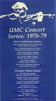 University of Missouri-Columbia Concert Series 1978-79