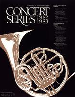 University of Missouri-Columbia Concert Series 1982-83