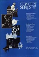 University of Missouri-Columbia Concert Series 1988-89