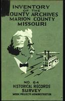 Inventory of the County Archives, Marion County, Missouri