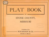 Plat Book of Stone County, Missouri