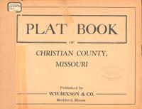 Plat Book of Christian County, Missouri
