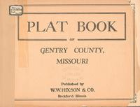 Plat Book of Gentry County, Missouri