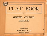 Plat Book of Greene County, Missouri