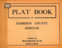 Plat Book of Harrison County, Missouri