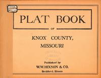 Plat Book of Knox County, Missouri