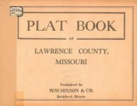 Plat Book of Lawrence County, Missouri