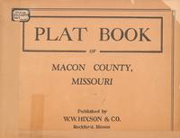Plat Book of Macon County, Missouri