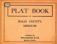 Plat Book of Ralls County, Missouri