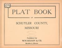 Plat Book of Schuyler County, Missouri