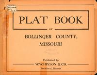 Plat Book of Bollinger County, Missouri