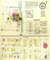 Canton, Missouri, 1917 August, sheet 1