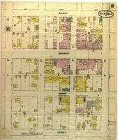 Columbia, Missouri, 1889 December, sheet 3