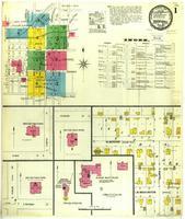 Marshall, Missouri, 1900 March, sheet 1