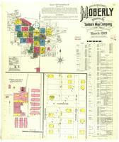 Moberly, Missouri, 1909 March, sheet 01