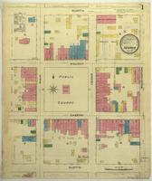 Nevada, Missouri, 1885 August, sheet 1