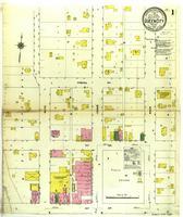 Queen City, Missouri, 1910 January, sheet 1
