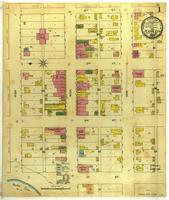 Platte City, Missouri, 1892 December, sheet 1
