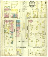 Warrensburg, Missouri, 1888 September, sheet 1