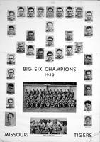 1939 University of Missouri Football Team,  Big Six Champions