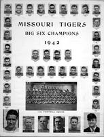 1942 University of Missouri Football Team, Big Six Champions