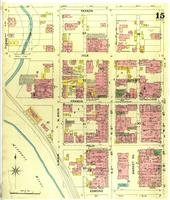 St. Joseph, Missouri maps: 1888 July