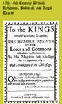 17th-19th Century British Religious, Political, and Legal Tracts