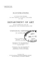 Illustrations of selected works in the various national sections of the Department of art