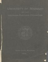 University of Missouri-Columbia-Rolla. University Exhibit at the Louisiana Purchase Exposition, St. Louis, 1904
