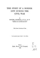 Story of a border city during the Civil War