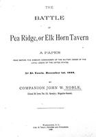 Battle of Pea Ridge, or Elk Horn tavern