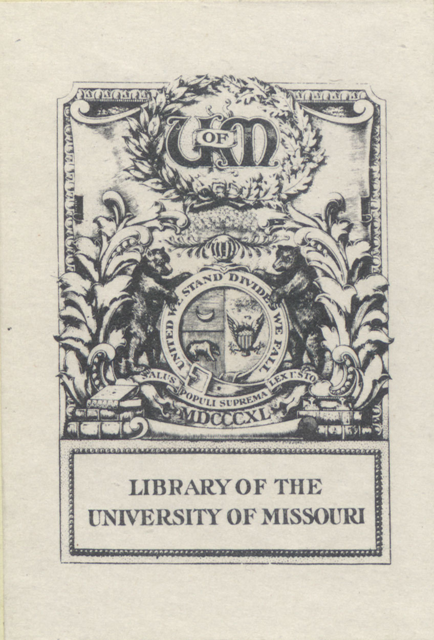 Rare Books in MU Libraries Special Collections (Collection)