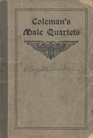Coleman's Male Quartets