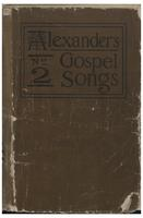 Alexander's Gospel songs, no. 2