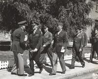 Photograph of 7 unidentified military officers