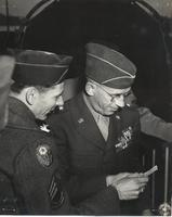 Photograph of two unidentified officers