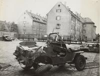 Photo of jeep wreckage