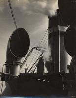 Photo of smokestack on ship