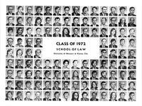 Class of 1972 School of Law