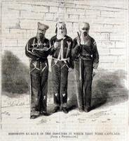 Mississippi Ku-Klux in the Disguises in Which They Were Captured