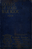 Gould's Blue Book, for the City of St. Louis. 1904