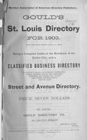 Gould's St. Louis Directory for 1903