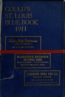 Gould's Blue Book, for the City of St. Louis. 1911