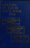 Gould's Blue Book, for the City of St. Louis. 1914