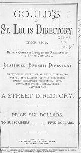 Gould's St. Louis Directory, for 1876