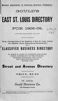 Gould's East St. Louis Directory