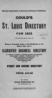 Gould's St. Louis Directory for 1915