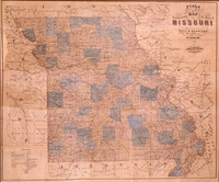 Fiala and Haren's New Sectional Map of the State of Missouri