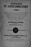 Gould's St. Louis Directory for 1920